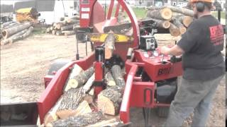 Brute Force 18-24 Diesel Firewood Processor - Small Wood & Crooked Logs