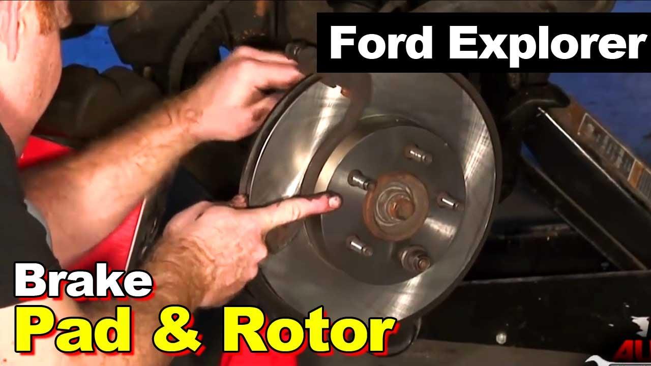 1995 1996 1997 For Ford Explorer Rear Brake Rotors and Brake Pads