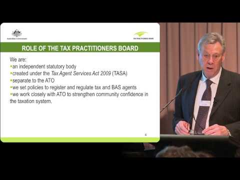 TPB tax agent presentation - 2 - Role of the Tax Practitioners Board