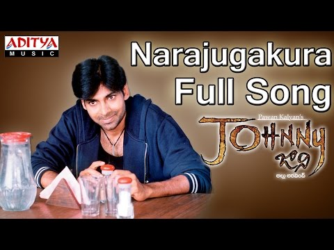 Narajugakura Full Song II Johnny Movie II Pawan Kalyan, Renudesai