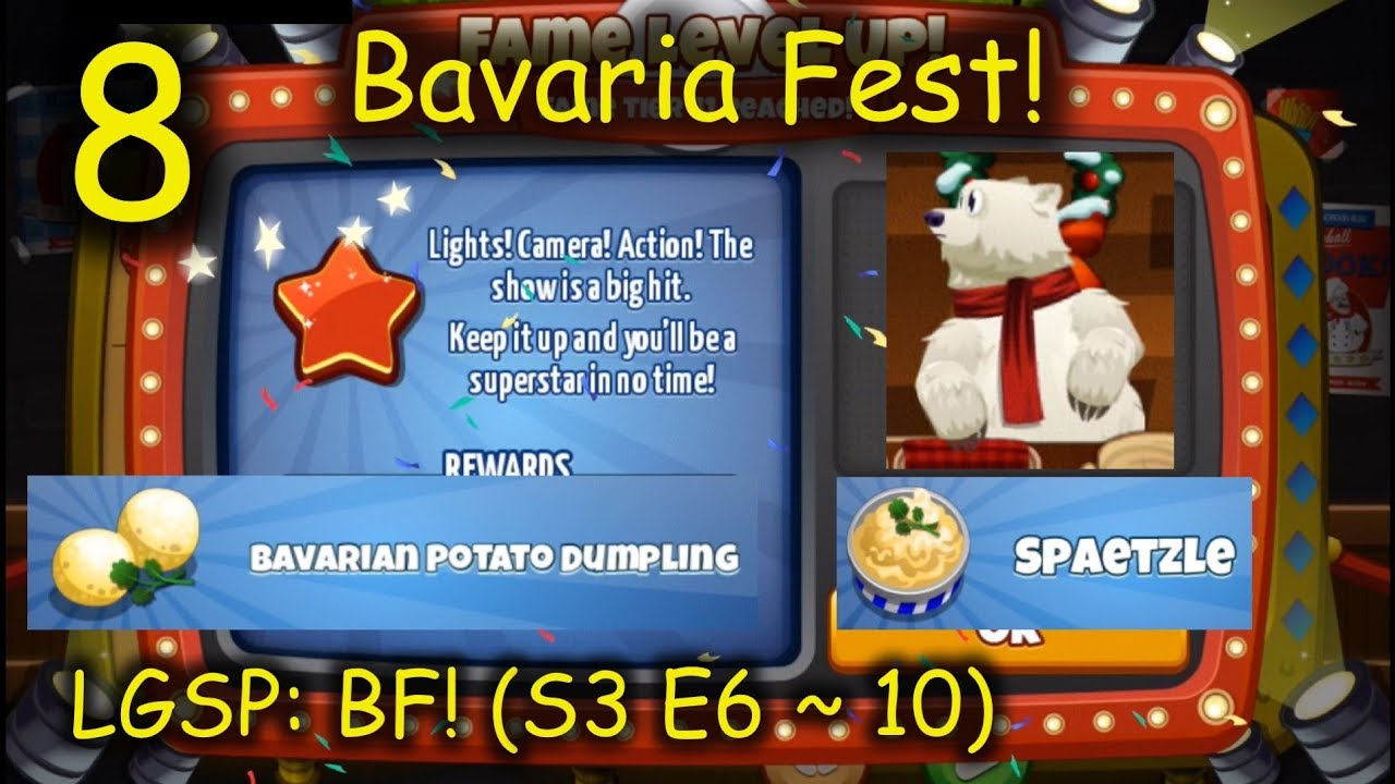 LGSP: BF! - Part 8 (S3 E6 ~ 10) = What is Spaetzle? (Cooking Dash ...