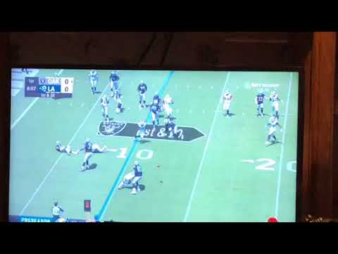 This Bad Oakland Raiders Wide Receiver Screen Play Jon Gruden Should Trash