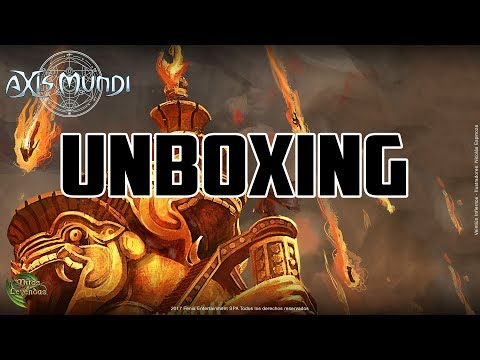 Unboxing Axis Mundi en Directo!! 3 Cajas 3 Legendarias!!