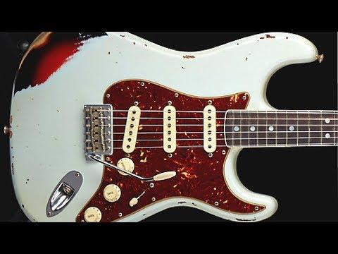 Bluesy Funk Rock   Guitar Backing Track Jam in G #