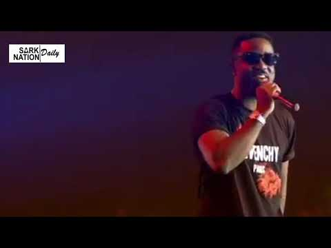 Sarkodie's performance at Glo Mega Music Show
