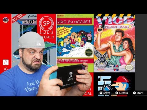 Nintendo: WTF Are THESE NES Online Switch Games?!