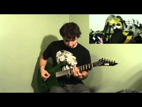 D City Rock - TeddyLoid feat. Debra Zeer Guitar Cover