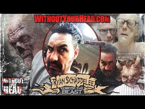 RYAN SCHADDAELEE Special Effects Artist & Director interview Without Your Head Podcast