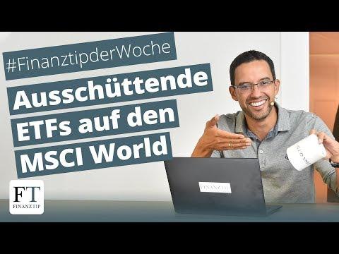 Lyxor, Comstage, HSBC, UBS: Die Besten Ausschüttenden ETFs Auf Den MSCI World
