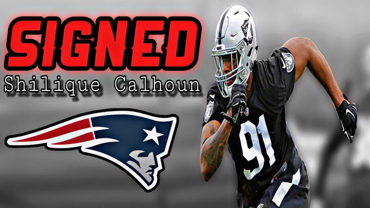 finest selection ce57f 87ab9 Patriots Sign DE Shilique Calhoun