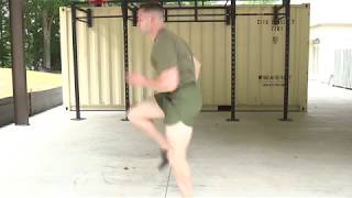 Marines Force Fitness-High Knees