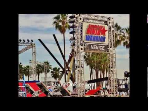 AMERICAN NINJA WARRIOR (PART 1/6)  (season 6) SET UP VENICE BEACH CALIFORNIA MARCH 6-11, 2014