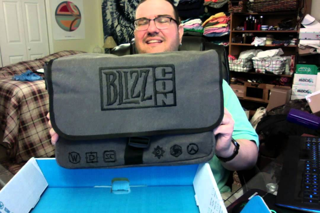 blizzcon 2015 goodie bag