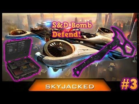 Cross Map Combat Axe Bomb Defend S&D - COD BO3 #3