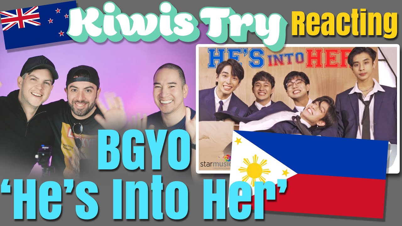 """Kiwis Try Reacting to """"He's Into Her"""" by BGYO!"""