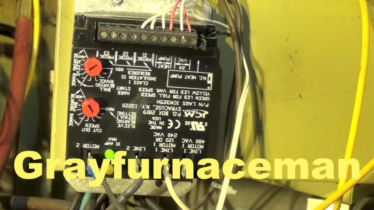 hight resolution of low ambient fan control for the air conditioner