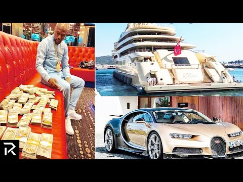 How Floyd Mayweather Spent Half A Billion Dollars!