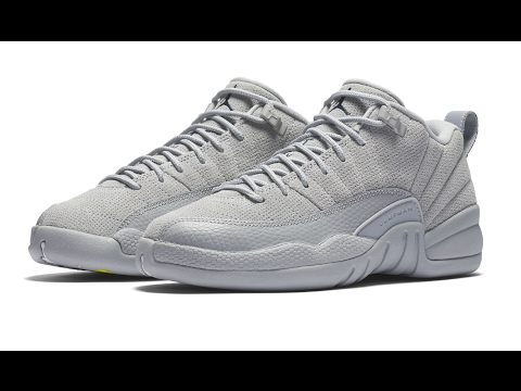 sale retailer 811e4 c82c1 The Air Jordan 12 Low Grey Has Some Pop To It