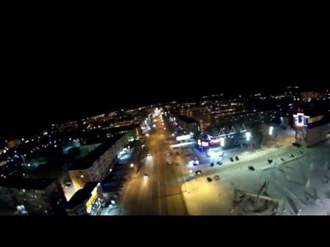 Ачинск ночью. 04_02_16