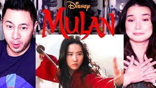 DISNEY'S MULAN | Official Trailer | Reaction | Jaby Koay