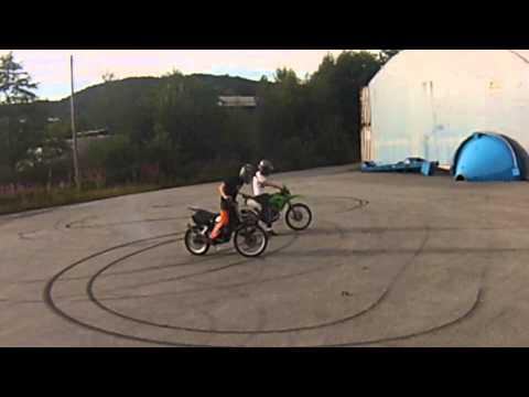 Wheelie Training #1 (no brake) | Norway | HD
