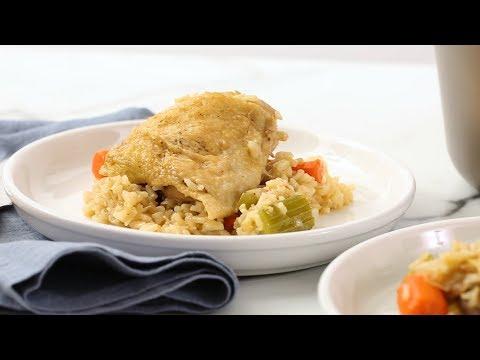 One-Pot Chicken and Brown Rice- Martha Stewart