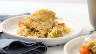One-Pot Chicken and Brown Rice- Martha Stewart
