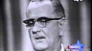 1964 Lyndon Johnson Democratic Convention Acceptance Speech
