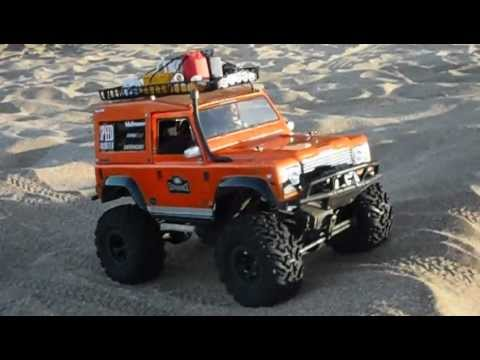 crawler rc land rover defender 1 10 youtube. Black Bedroom Furniture Sets. Home Design Ideas