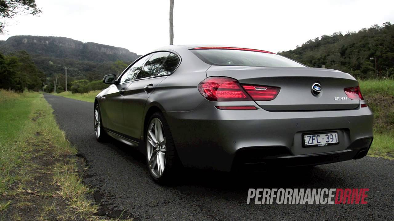 2013 Bmw 650i Gran Coupe Engine Sound And 0 100km H Youtube