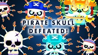PIRATE SKULL - Knife Hit Pirate Challenges