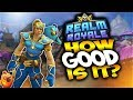 How can a free game be this good? - New Realm Royale Gameplay with Chickens & Magic!