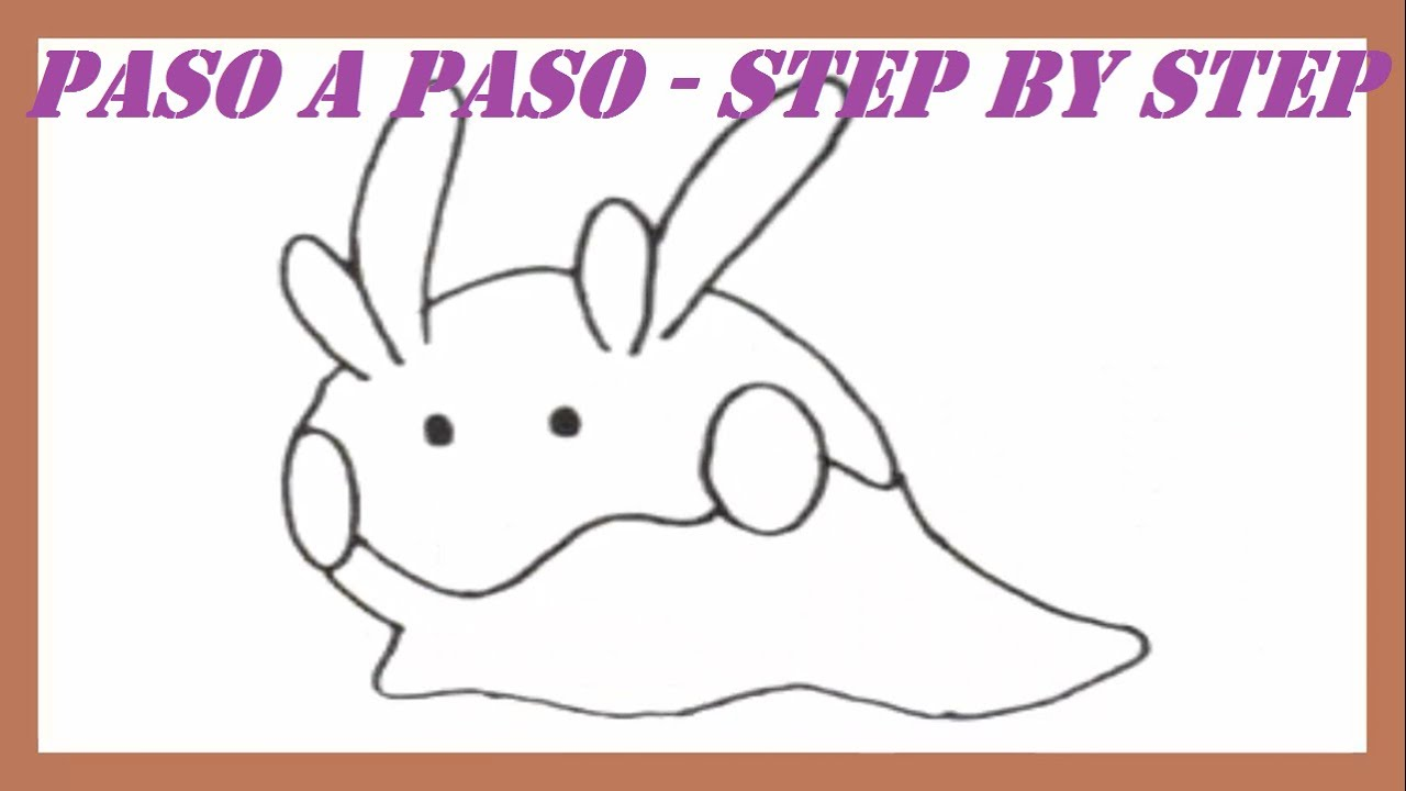 Como dibujar a Goomy Pokemon l How to draw Goomy Pokemon  YouTube