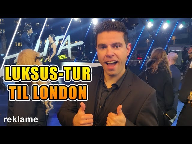 Luksus-tur til London!