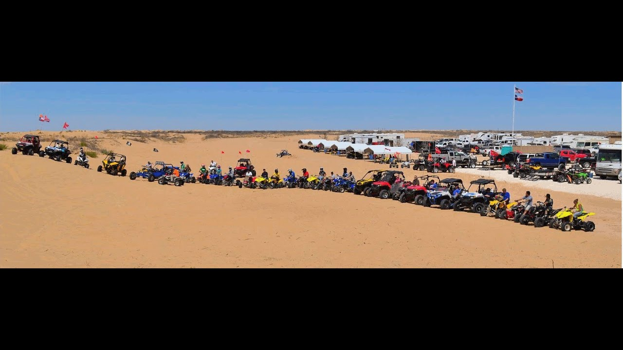 West Texas Atvs Com Group Ride Kermit Sand Dunes Texas