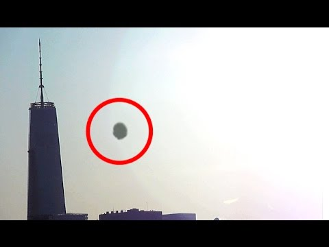 UFO NEW YORK CITY Sighting! One World Trade Center UFO Encounter