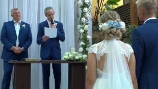 Mensagem emocionante do pai da noiva