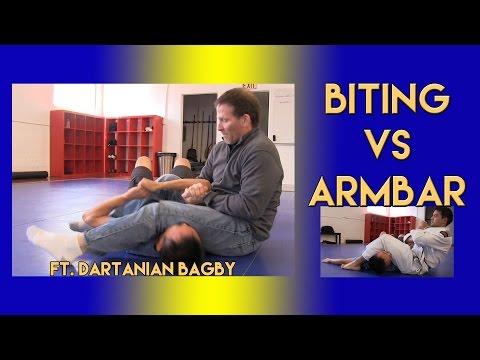 Biting vs Armbar ft. Dartanian Bagby