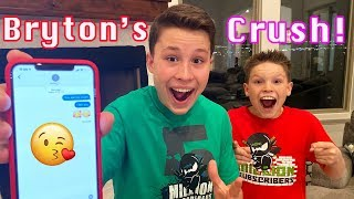 I text my Crush for the first time!