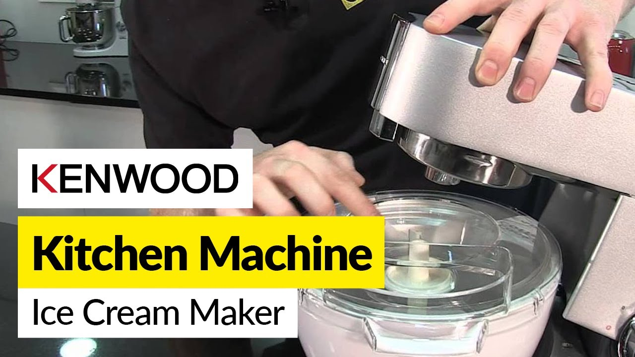 Kenwood Kvl6000s How To Use An Ice Cream Maker Kenwood