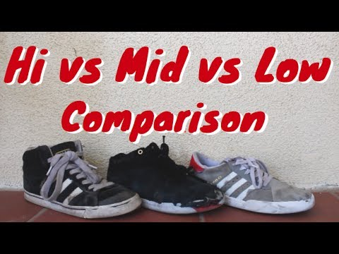 LOW VS MID VS HIGH TOP SKATE SHOES - YouTube 483557810