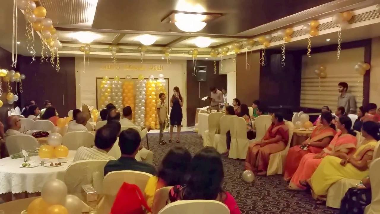 Emcee Elegant Birthday Party Decorations In Pune