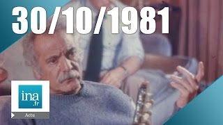 20h Antenne 2 du 30 octobre 1981 - Mort de Georges Brassens | Archive INA