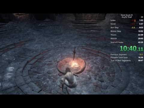 Dark Souls III - Any% Bandit's Knife Speedrun - 39:20