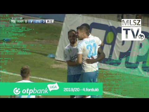 Ikoba Eduvie gólja a Kaposvári Rákóczi FC – ZTE FC mérkőzésen
