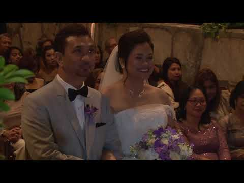 Nancy and Froilan's Wayfarers Chapel Wedding Ceremony (short version)