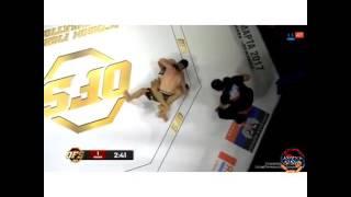 Боец Самвел Саргсян одержал победу в турнире MMA «Возвращение героев»