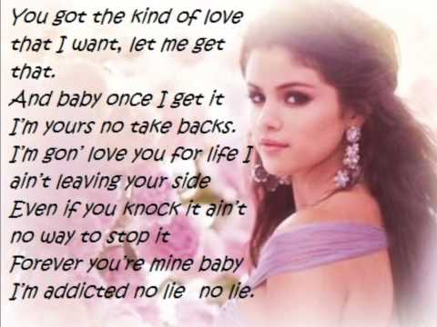 Selena Gomez - Come and get it (LYRICS ON SCREEN)