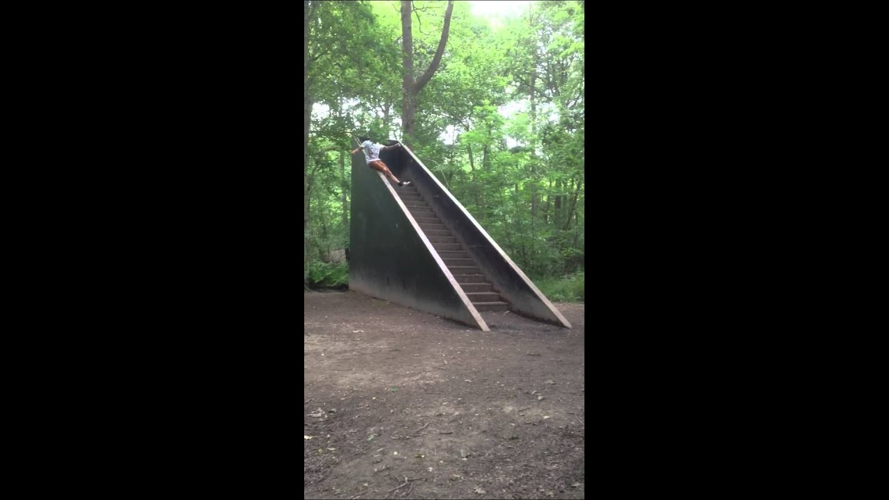 Random Stairs In The Woods Youtube