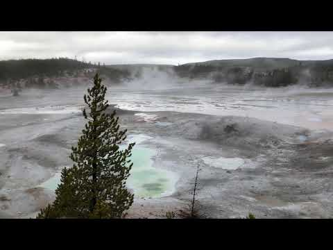 The Yellowstone Hot Springs